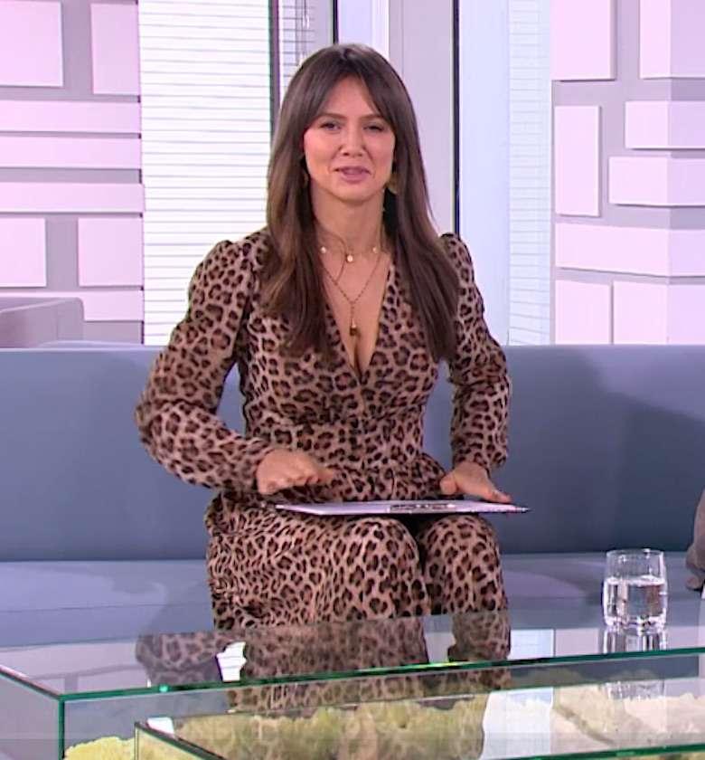 Kinga Rusin – stylizacja w Dzień Dobry TVN, 10 listopada 2018