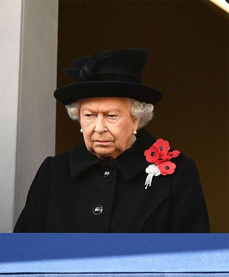 królowa Elżbieta II - obchody Dnia Pamięci w Wielkiej Brytanii