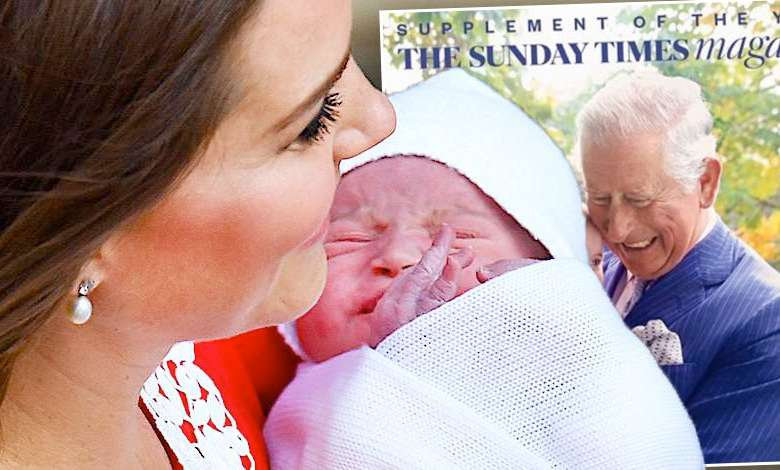 Najsłodszy debiut w historii! Książę Louis na swojej pierwszej okładce legendarnego magazynu! Uśmiechamy się od samego patrzenia