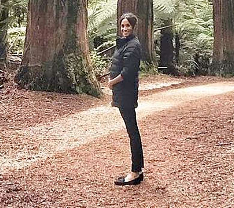 Meghan Markle z ciążowym brzuszkiem na prywatnej fotografii