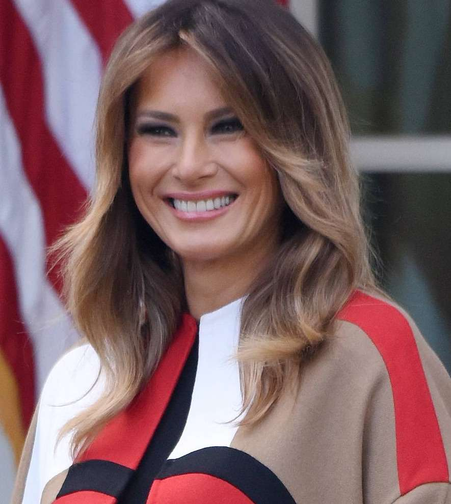 Makijaż Melanii Trump