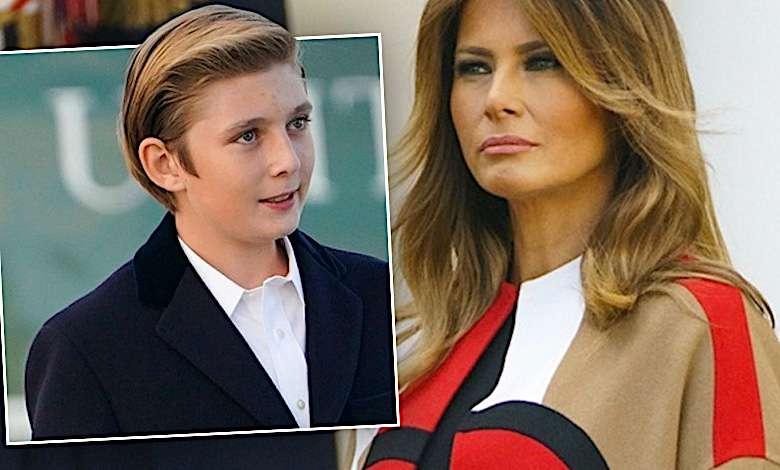 Niesamowite! Syn przyćmił Melanię Trump! Całe USA komentuje występ Barrona!
