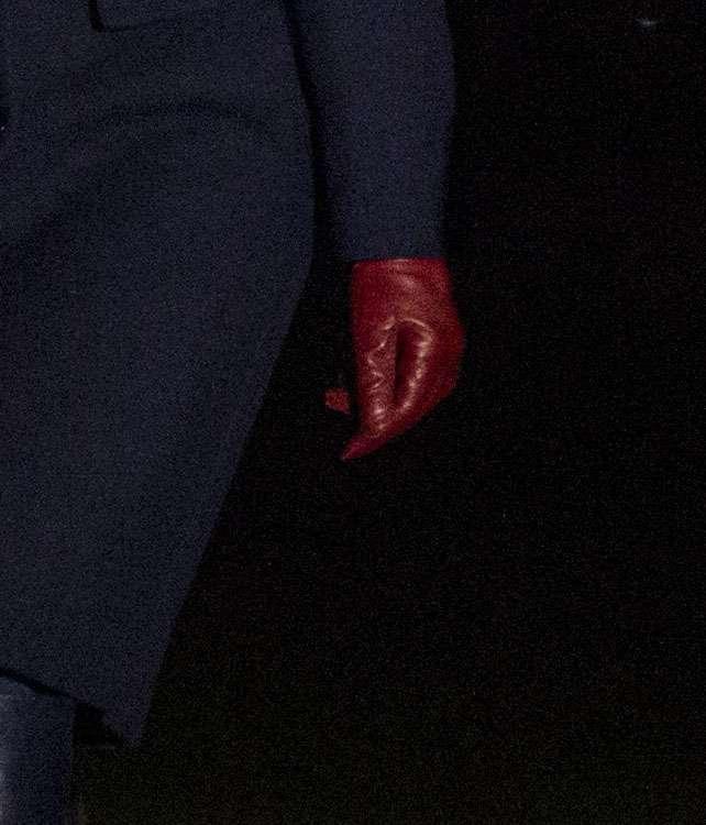 Melania Trump w nocy przed Białym Domem