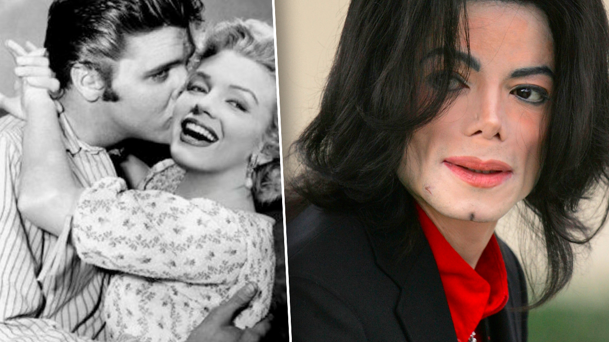 Marilyn, Elvis, Michael Jackson