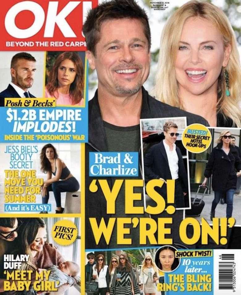 Brad Pitt i Charlize Theron mają romans