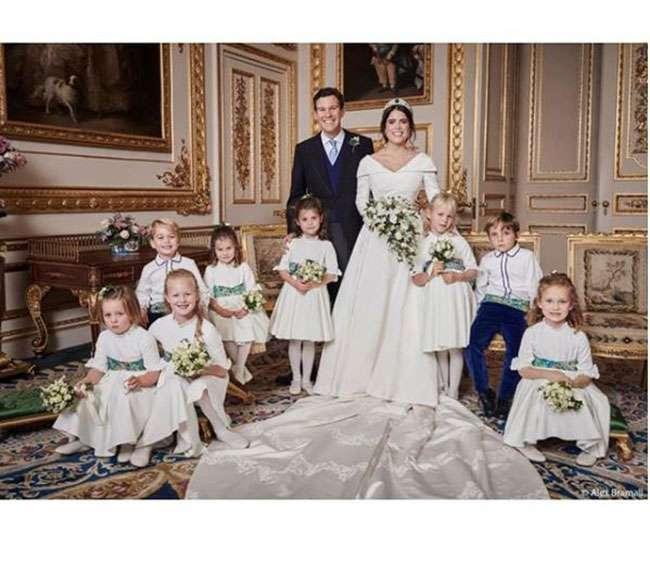 Księżniczka Eugenia i Jack Brooksbank wysłali kartki z podziękowaniami