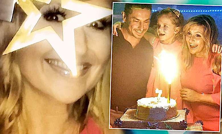 Kasia Skrzynecka urodziny córki