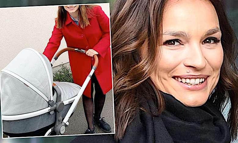 Anna Starmach wózek dla córki