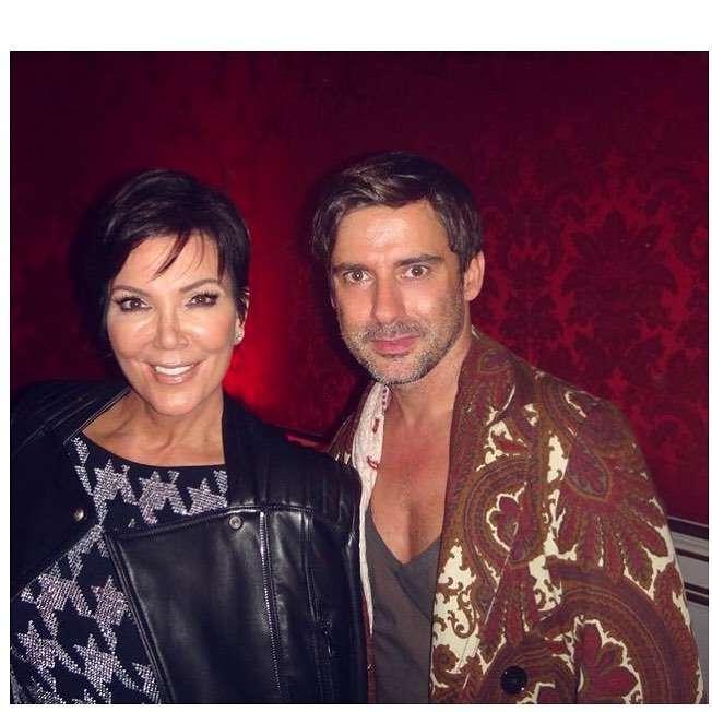 Kris Jenner i Marcin Tyszka na wspólnym zdjęciu