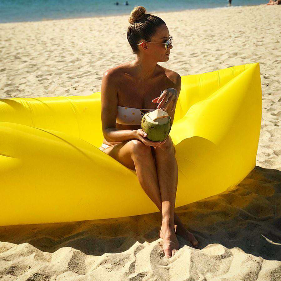 Małgorzata Rozenek w bikini na Zanzibarze