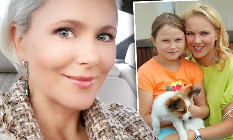 """Anna Samusionek pokazała poruszający film z córką ze szpitala. """"Powoli wstajemy na nogi"""""""