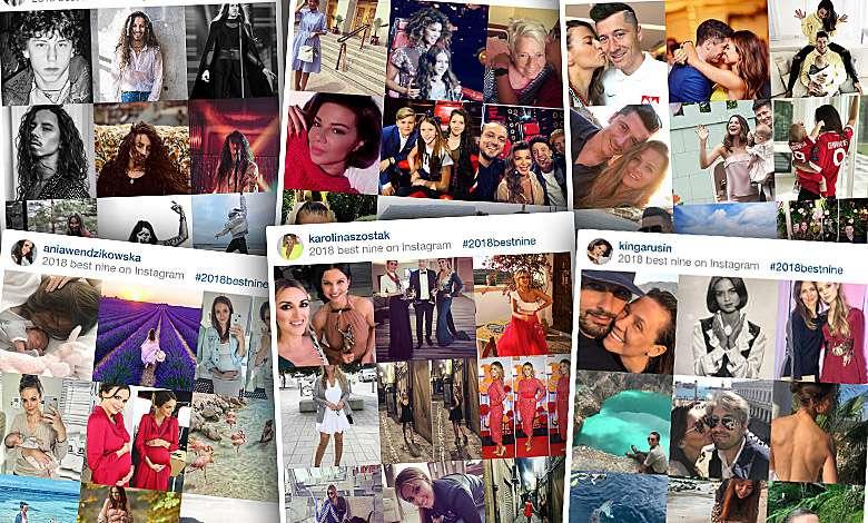 Best nine of instagram 2018