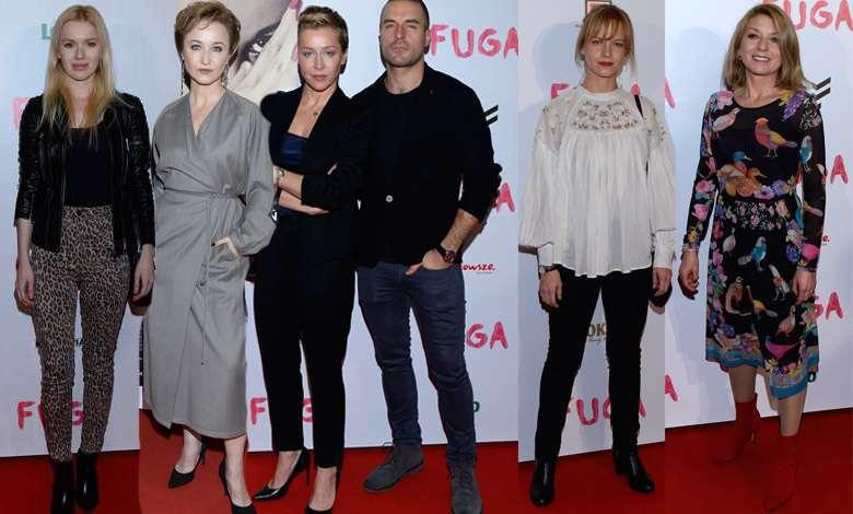 """Gwiazdy na premierze filmu """"Fuga"""""""