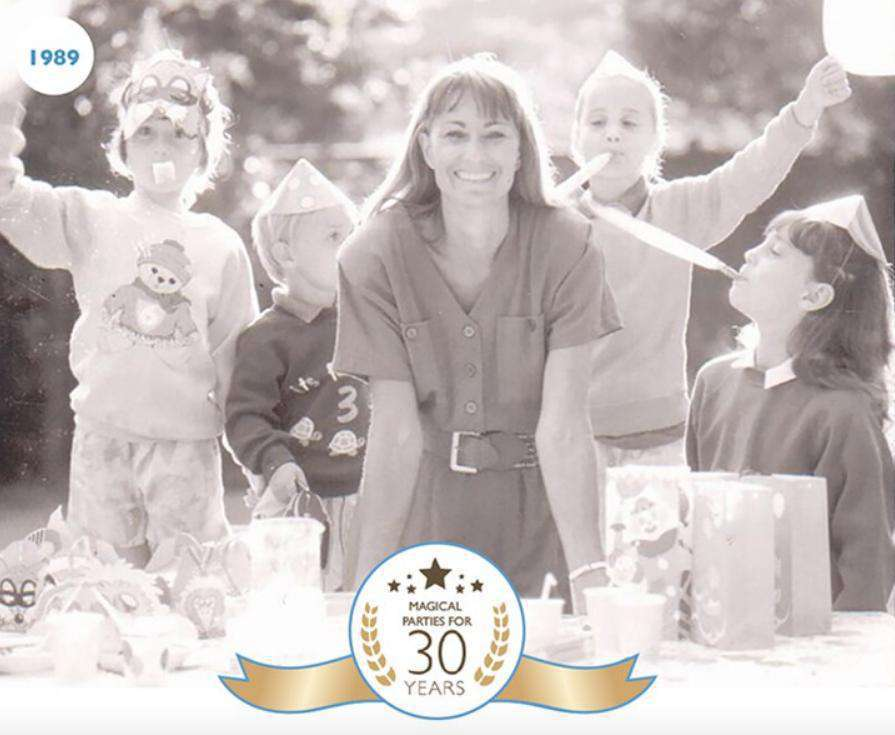 Kate Middleton w dzieciństwie. Zdjęcie z imprezy Carole Middleton