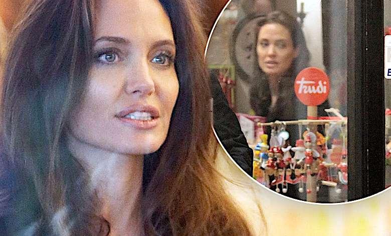 Angelina Jolie, dzieci, zakupy