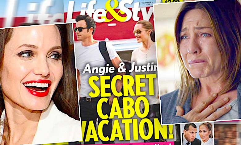 Angelina Jolie i Justin Theroux mają romans