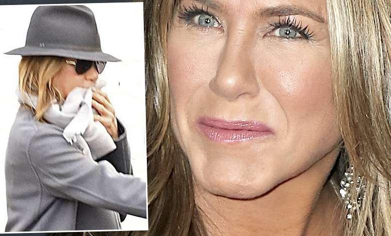 Jennifer Aniston twarz po botoksie
