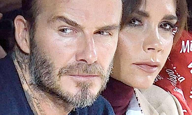 David Beckham Victoria mają kryzys