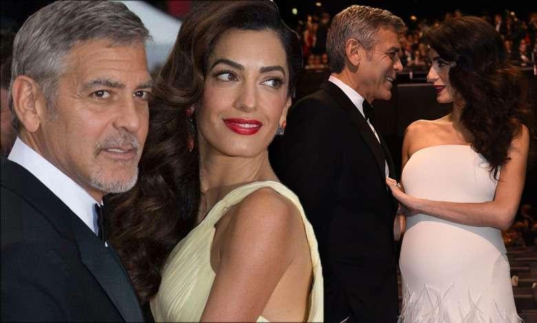 Amal Clooney ciąża