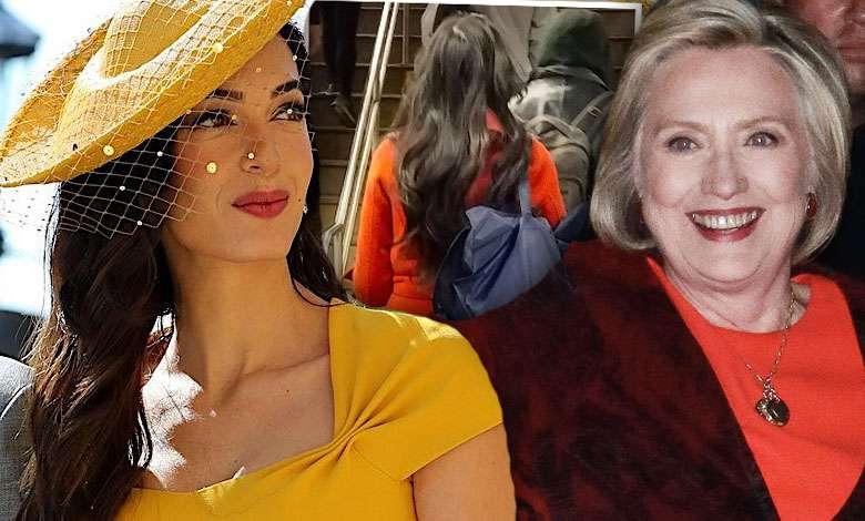 Hilary Clinton Amal Clooney