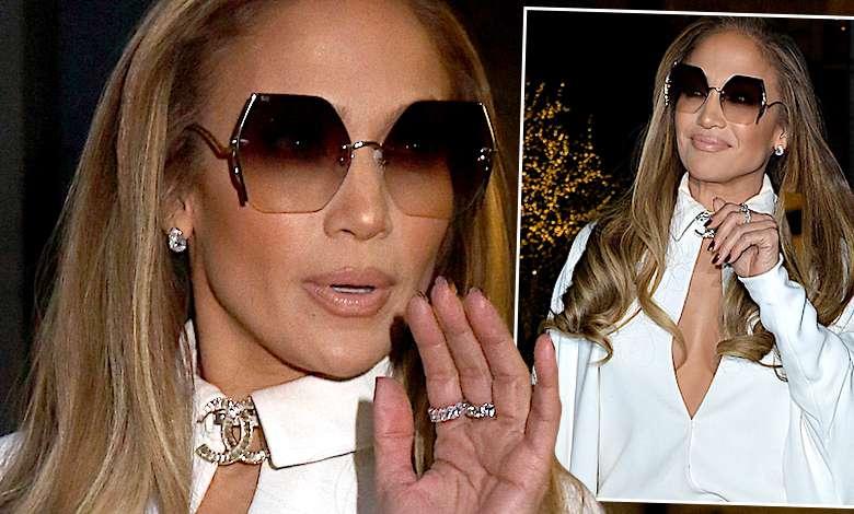 UPS… Cały świat zobaczył, jak Jennifer Lopez zniszczyła swoją luksusową stylizację. Wystarczyła chwila nieuwagi