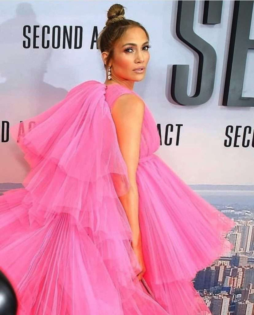 Jennifer Lopez na premierze filmu Second Act