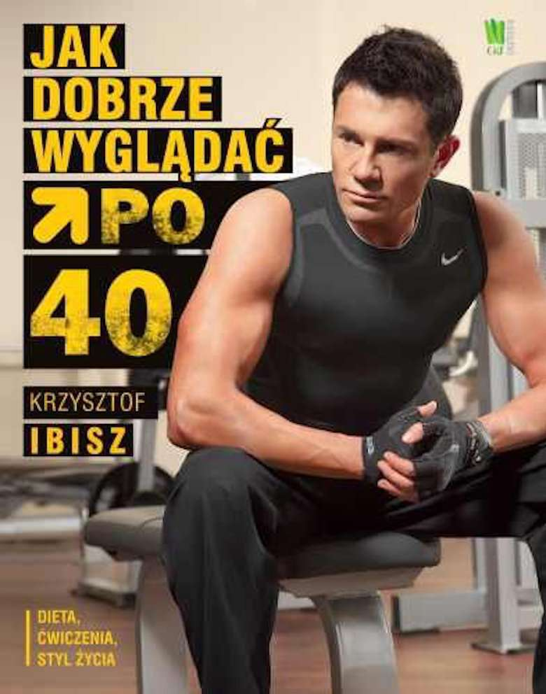 Krzysztof Ibisz – okładka książki