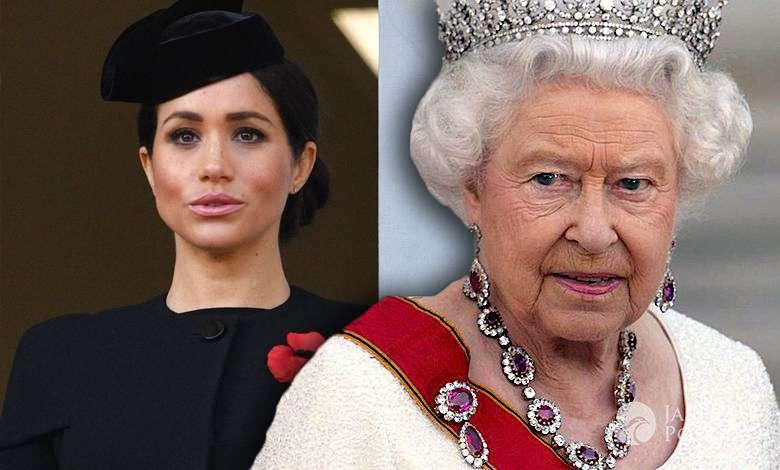 Meghan markle królowa elżbieta