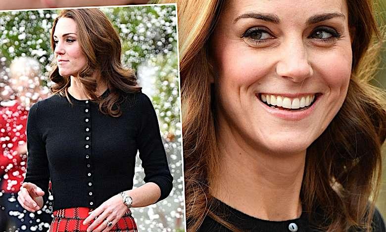 Księżna Kate świąteczna stylizacja