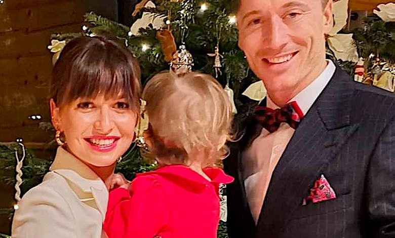 Anna i Robert Lewandowscy święta 2018