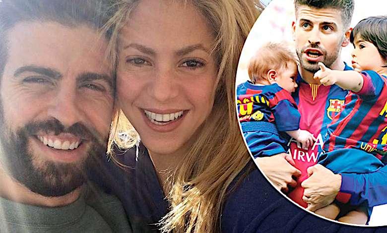 Shakira i Gerard Pique dzieci