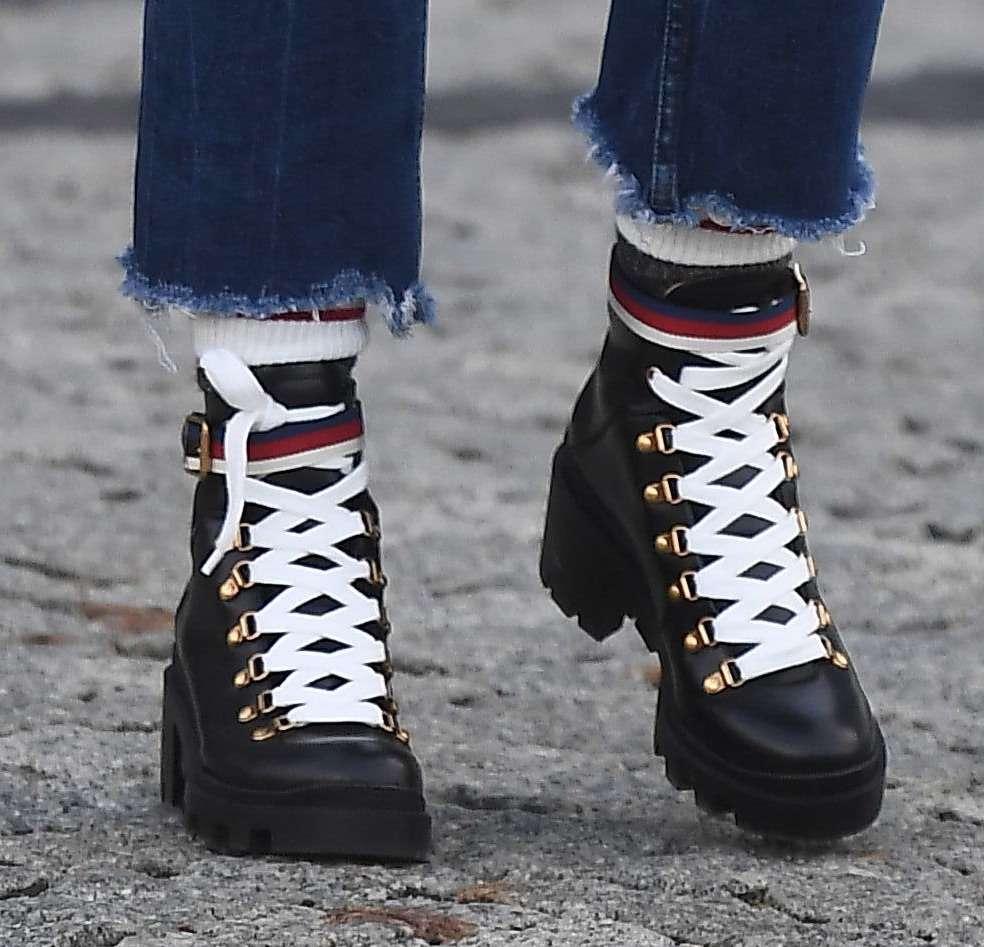 Zimowe buty Małgorzaty Sochy