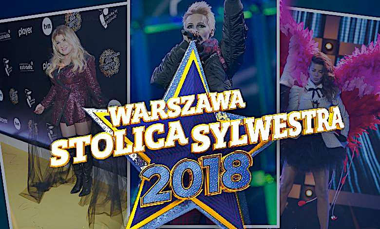 Warszawa Sylwester 2018 TVN gwiazdy