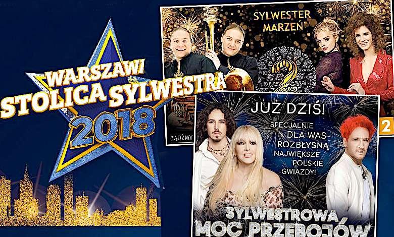 sylwester 2018 TVP TVN Polsat