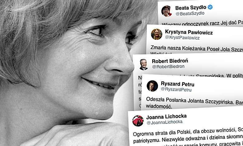 Jolanta Szczypińska nie żyje. Wspomnienia