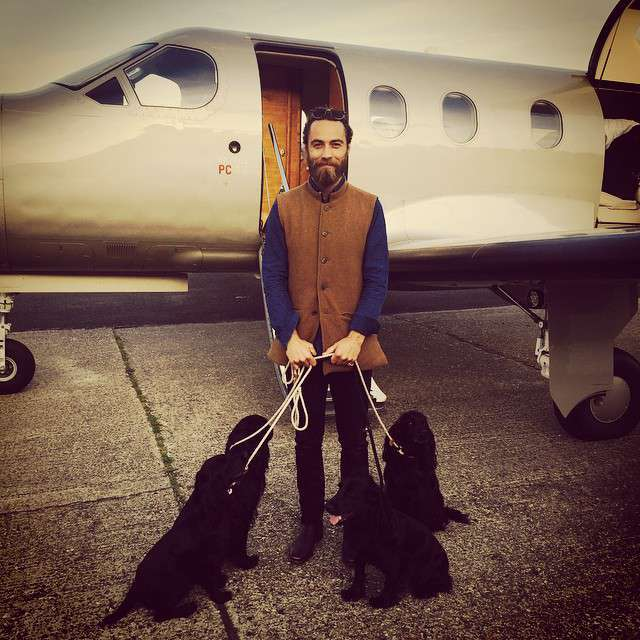 James Middleton - co publikuje na Instagramie?