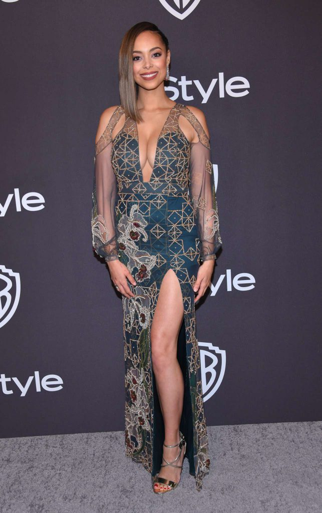 Amber Stevens West - Złote Globy 2019 after party InStyle
