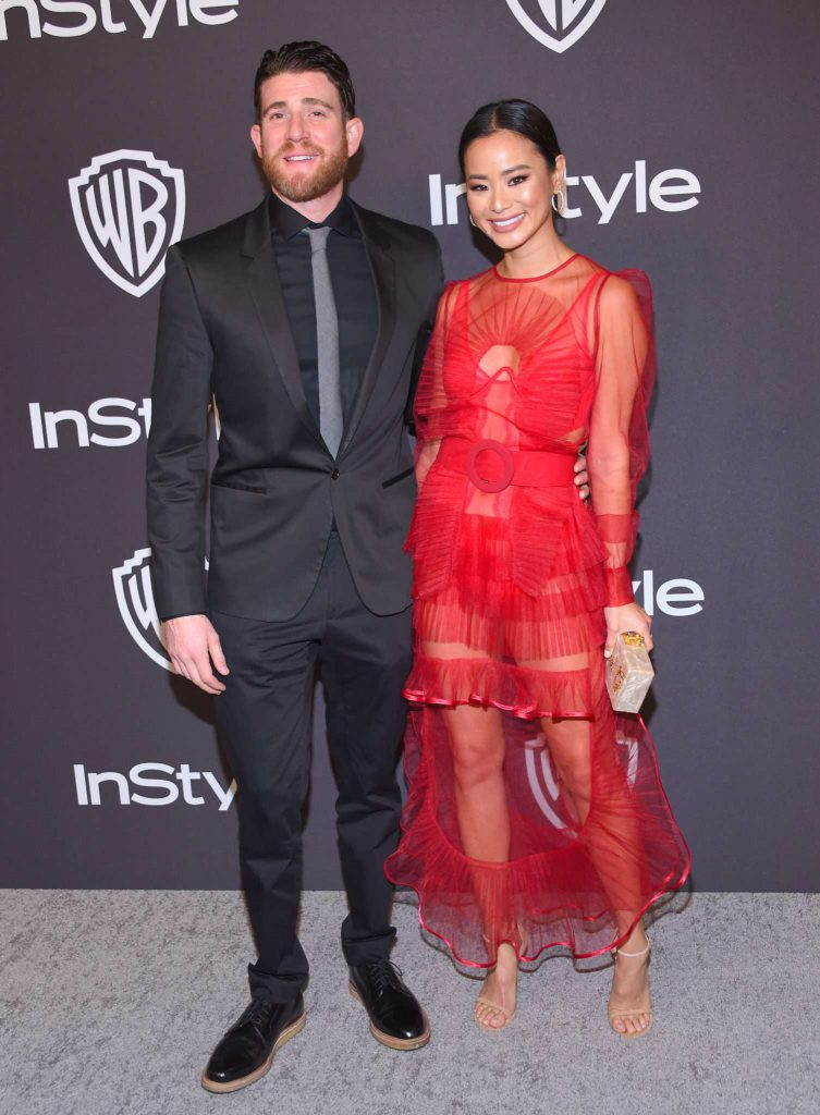 Bryan Greenberg i Jamie Chung - Złote Globy 2019 after party InStyle