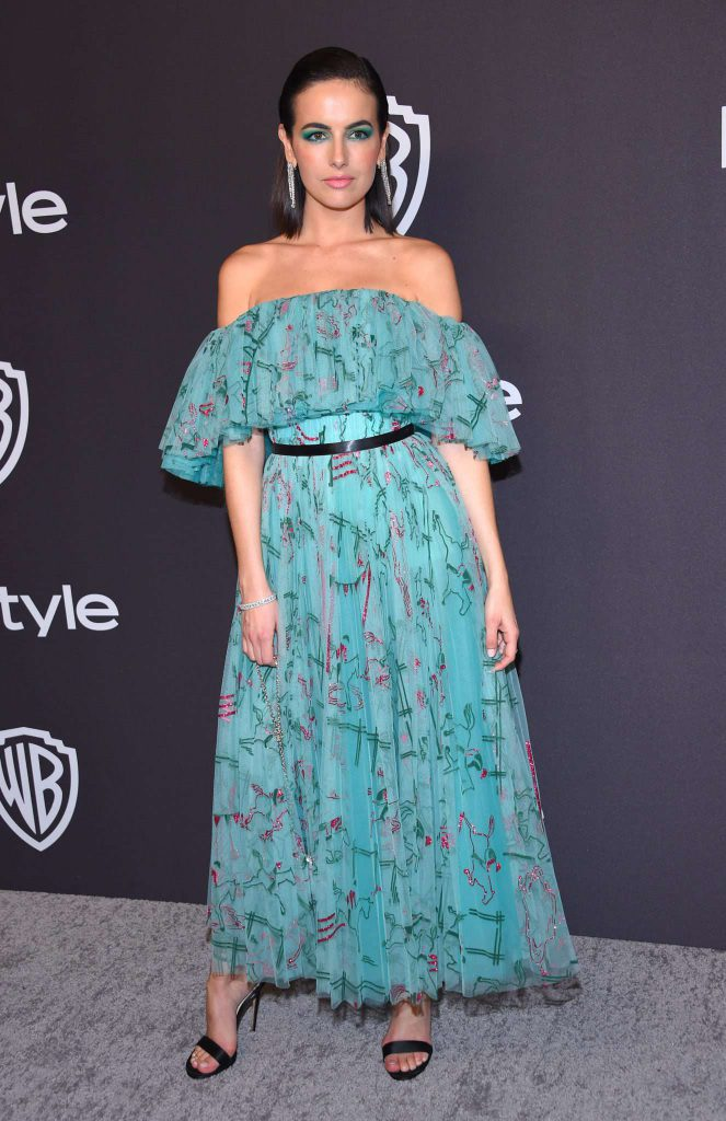 Camilla Belle - Złote Globy 2019 after party InStyle