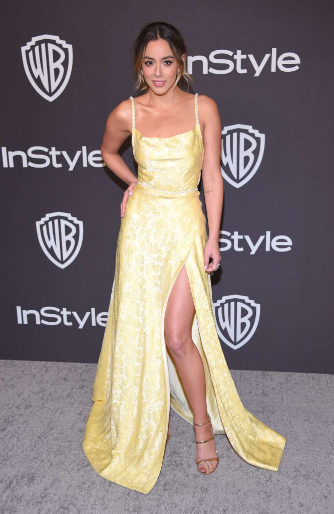 Chloe Bennet- Złote Globy 2019 after party InStyle