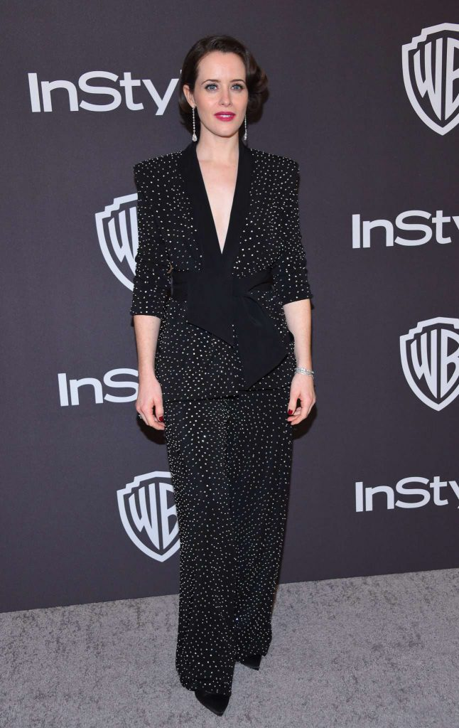 Claire Foy - Złote Globy 2019 after party InStyle
