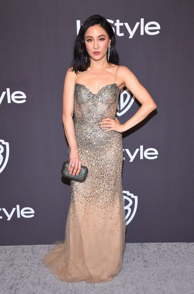 Constance Wu - Złote Globy 2019 after party InStyle