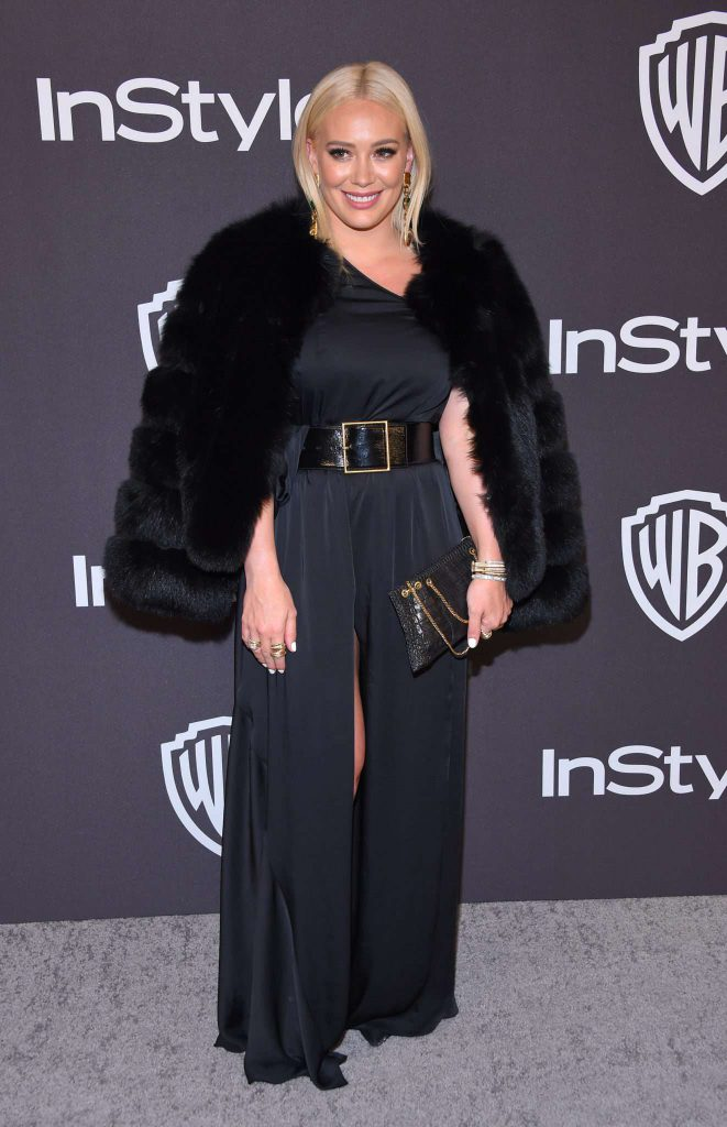 Hilary Duff - Złote Globy 2019 after party InStyle