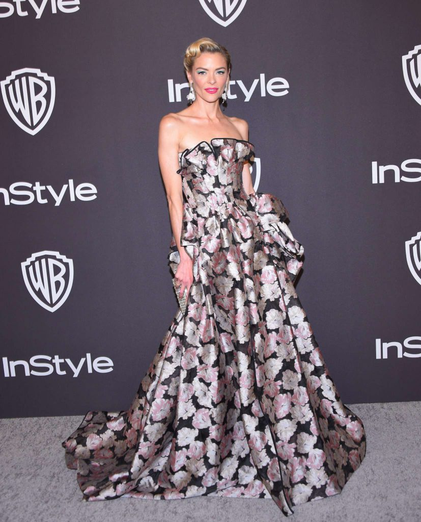 Jaime King - Złote Globy 2019 after party InStyle