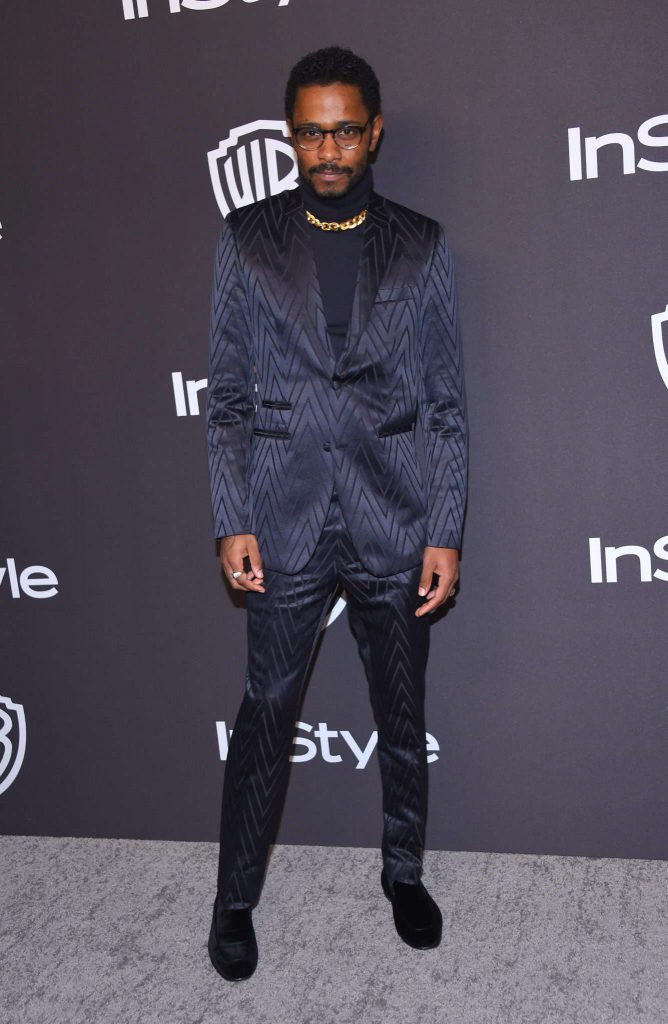 Lakeith Stanfield - Złote Globy 2019 after party InStyle