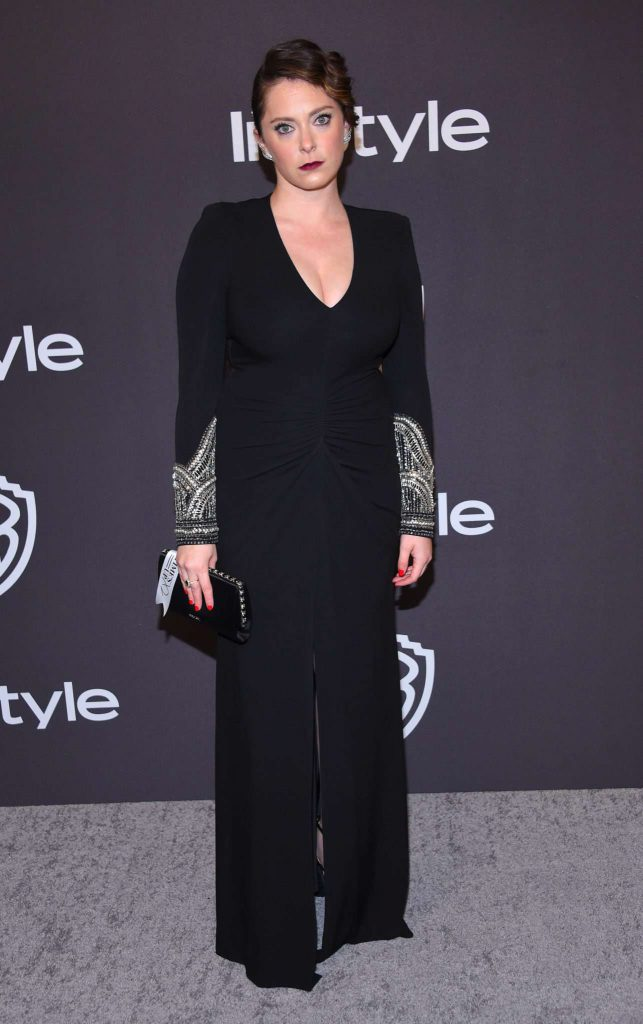 Rachel Bloom - Złote Globy 2019 after party InStyle