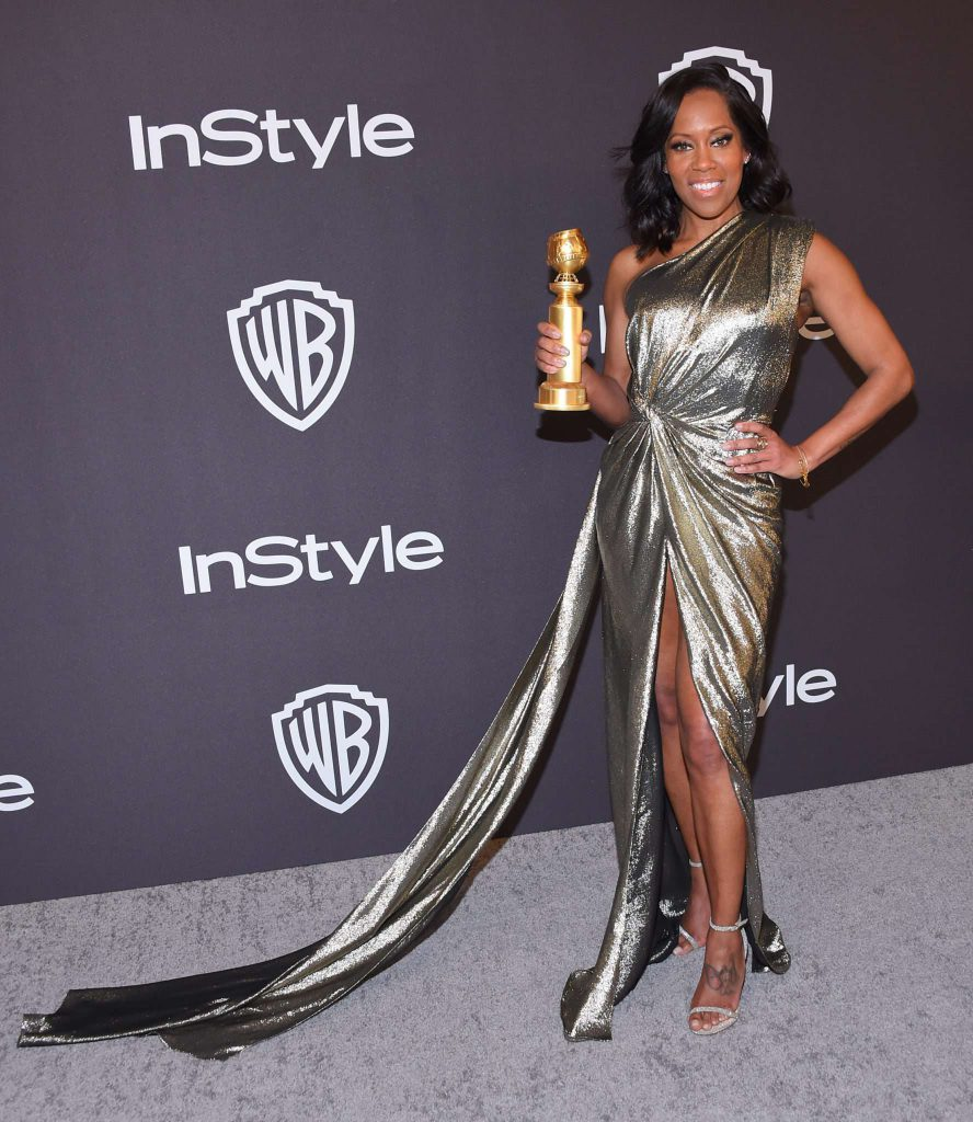 Regina King - Złote Globy 2019 after party InStyle