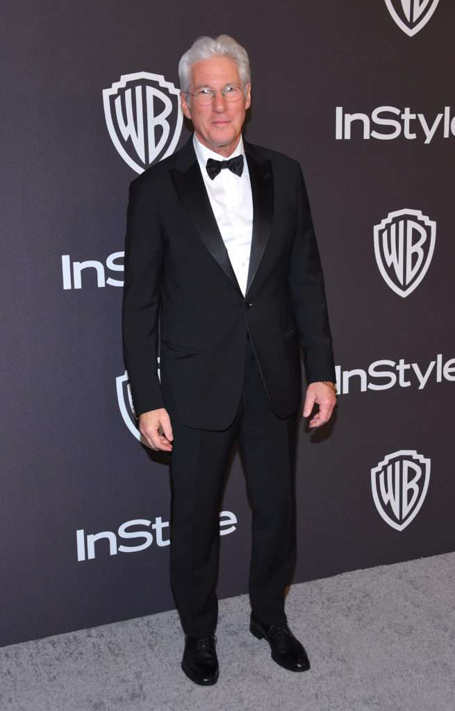 Richard Gere - Złote Globy 2019 after party InStyle