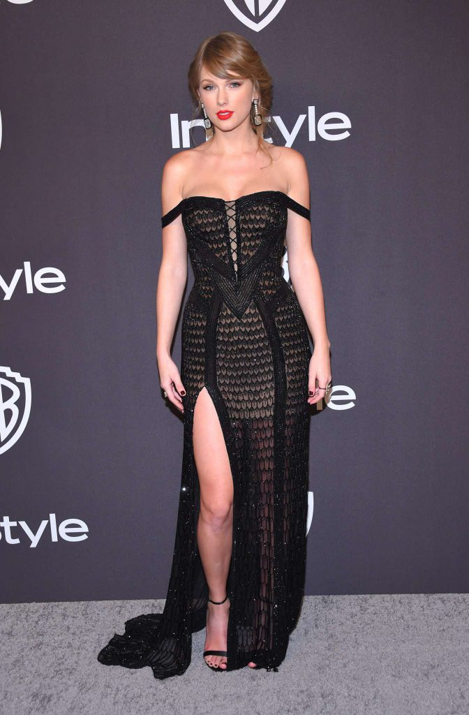 Taylor Swift - Złote Globy 2019 after party InStyle