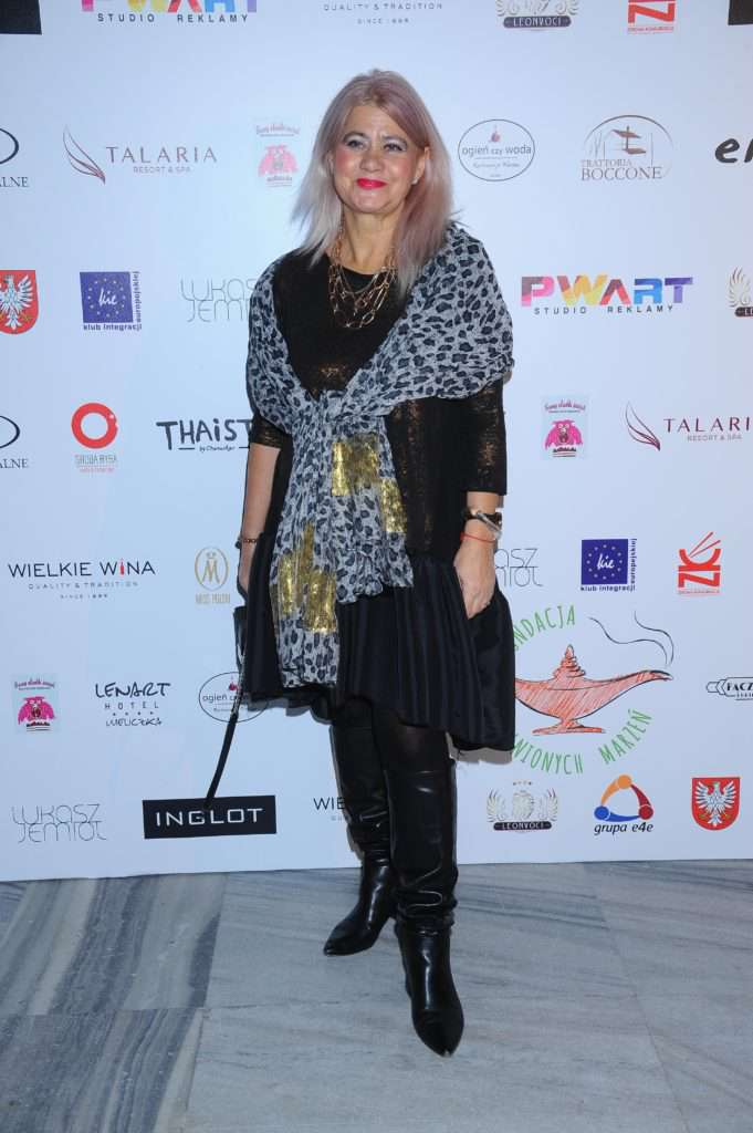 Izabela Kisio-Skorupa - charytatywny pokaz mody